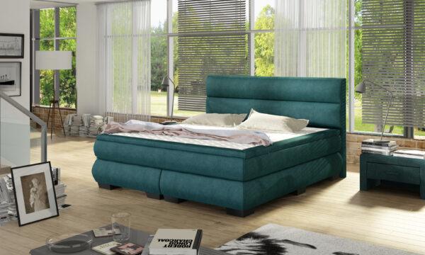 łóżko kontynentalne meble kjc barzyńscy